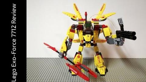Lego Exo-Force 7712 Supernova (HD)