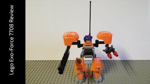 Lego Exo-Force 7708 Uplink Review (HD)