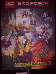 Exo-Force - Deep Jungle (2008) - Poster