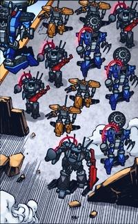 Retreat robots