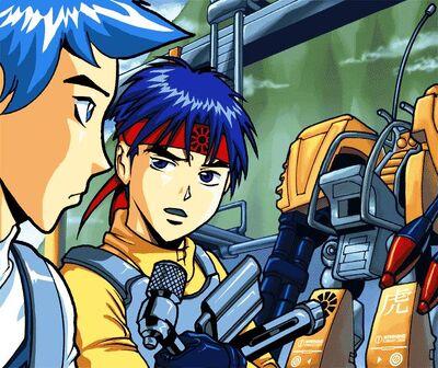 Ryo and Hikaru