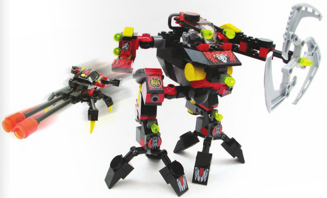 Stealth hunter 7700 lego exo-force building instructions.