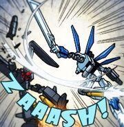 The Sky Guardian defeat a Iron Condor