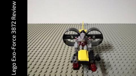 Lego Exo-Force 3872 Robo Chopper Review (HD)