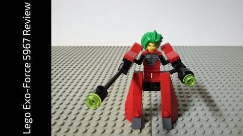 Lego Exo-Force 5967 Takeshi Walker Review (HD)