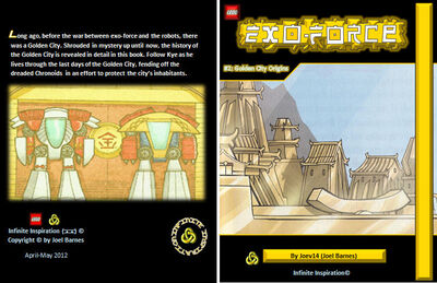 Golden City Origins Cover