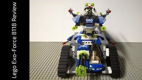 Lego Exo-Force 8118 Hybrid Rescue Tank Review (HD)