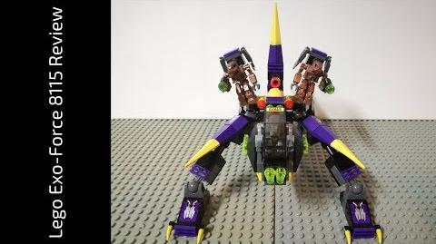 Lego Exo-Force 8115 Dark Panther Review (HD)