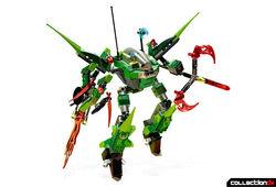 CG box art model- Chameleon Hunter 8114