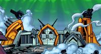 Abandonada fortaleza