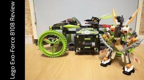 Lego Exo-Force 8108 Mobile Devastator Review (HD)
