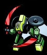 The Mini Jungle Bot in the Comics
