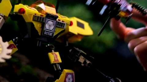 LEGO EXO FORCE 2008 - The Deep Jungle Battle Machines TV Spot