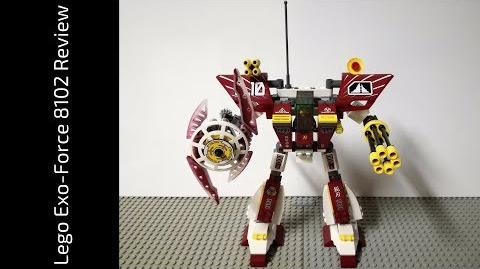 Lego Exo-Force 8102 Blade Titan Review (HD)