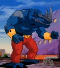Warrior-rhino