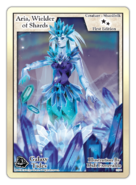 Aria-wielder-of-shards-Foil-exodus-card