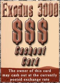 Card cashout