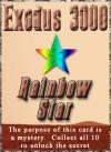Card rainbowstar