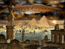 Стародавній Єгипет та Прибульці