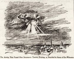 Mystery airship SFCall Nov 19 1896