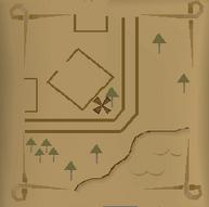 Yanille map