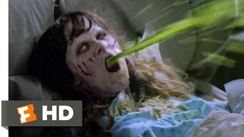 The Exorcist (2 5) Movie CLIP - Projectile Vomit (1973) HD