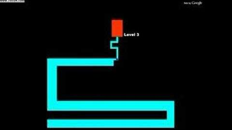 The infamous third level of The Scary Maze Game