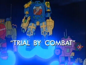 Trial by Combat titlecard