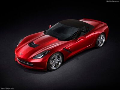 Chevrolet-Corvette C7 Stingray Convertible 2014 800x600 wallpaper 04