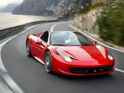 Ferrari-458 Spider 2013 800x600 wallpaper 01