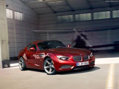 BMW-Zagato Coupe Concept 2012 800x600 wallpaper 01