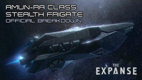 The Expanse Amun-Ra Class Stealth Frigate - Official Breakdown