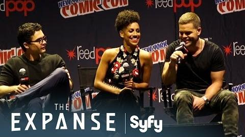 THE EXPANSE Complete Cast Panel New York Comic-Con 2016 Syfy