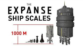 THE EXPANSE Ship Scales