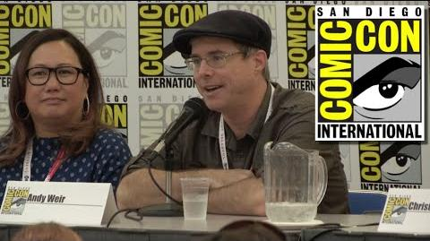 Book to Screen Panel at San Diego Comic Con 2015