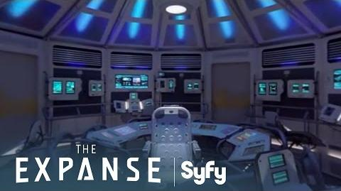 THE EXPANSE 360º Arboghast Set Tour with Shohreh Aghdashloo Syfy