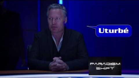 "The Expanse S02E06 ""Paradigm Shift""; Conrad Pla as Colonel Janus speaks Uturbé's name"