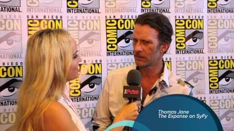 Thomas Jane interview at Comic Con For The Expanse