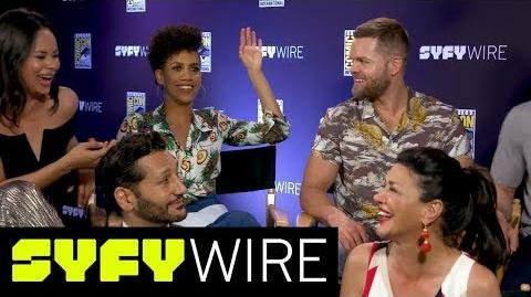 Expanse Cast Previews Special Effects for Season 3 San Diego Comic-Con 2017 SYFY WIRE