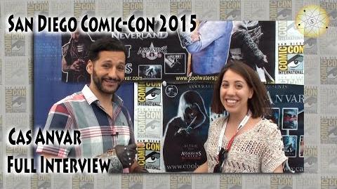 COMIC-CON 2015 - Cas Anvar talks about the science in The Expanse