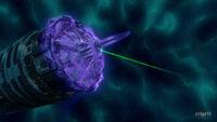 S03E13-Behemoth Comm Laser Fire