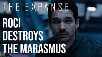 The Expanse - The Rocinante Destroys The Marasmus