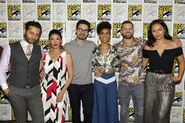 SDCC2017 4-cast photo