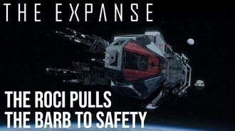 The Expanse - The Roci Pulls the Barb to Orbital Safety
