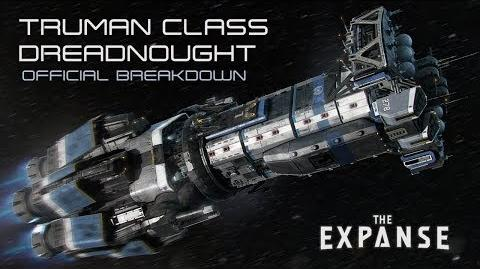 The Expanse Truman Class Dreadnought - Official Breakdown