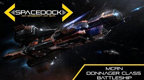 The Expanse MCRN Donnager Class Battleship - Spacedock