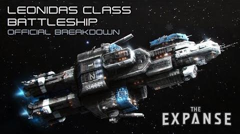 The Expanse Leonidas Class Battleship - Official Breakdown