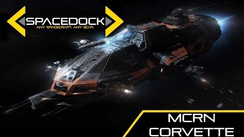 The Expanse MCRN Corvette (Tachi Rocinante) - Spacedock