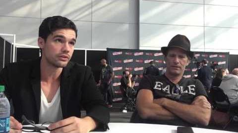 The Expanse - NYCC 2015 - Steven Strait - Thomas Jane