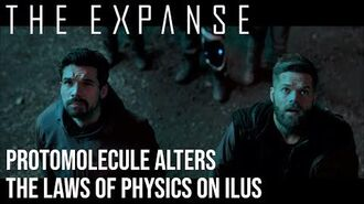 The Expanse - Protomolecule Alters The Laws of Physics at Ilus